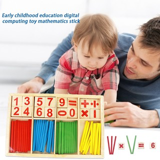 Children's Early Education Digital Film Computing Toy Counts Great Kindergarten Pupils Wooden Puzzle Learning Toys