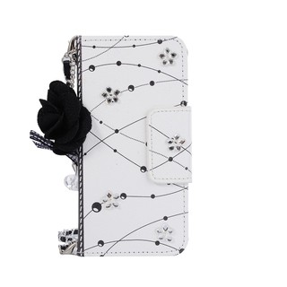 Bao điện thoại dạng ví hoa thời trang cho iphone 5 6 7 8 plus X
