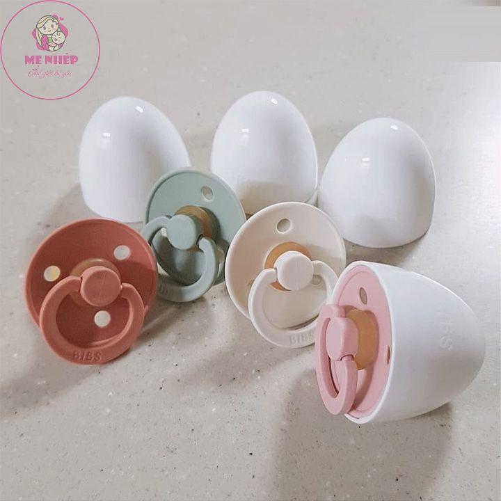 [Mã 267FMCGSALE giảm 8% đơn 500K] Mua 1 được 6 Ti giả Bibs nhập khẩu Đan Mạch tặng nắp trứng và các quà tặng