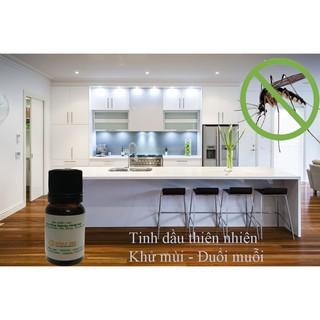 Hình ảnh Combo 2 chai tinh dầu sả java đuổi muỗi 10ml IAT nguyên chất 100%-0