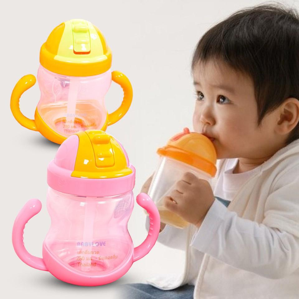 Bình uống nước chống sặc AIKO cho bé