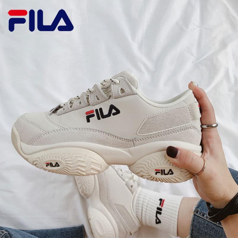 7 น้องสาว fiela คอนเสิร์ตต่ํา 96 suede รองเท้าเทนนิสพ่อ retro กีฬาลําลองรองเท้าวิ่ง