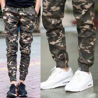(Video Ảnh Thật) Quần kaki lính kiểu dáng quần jogger lính – Chuẩn form Nam Nữ Couple đều mặc được