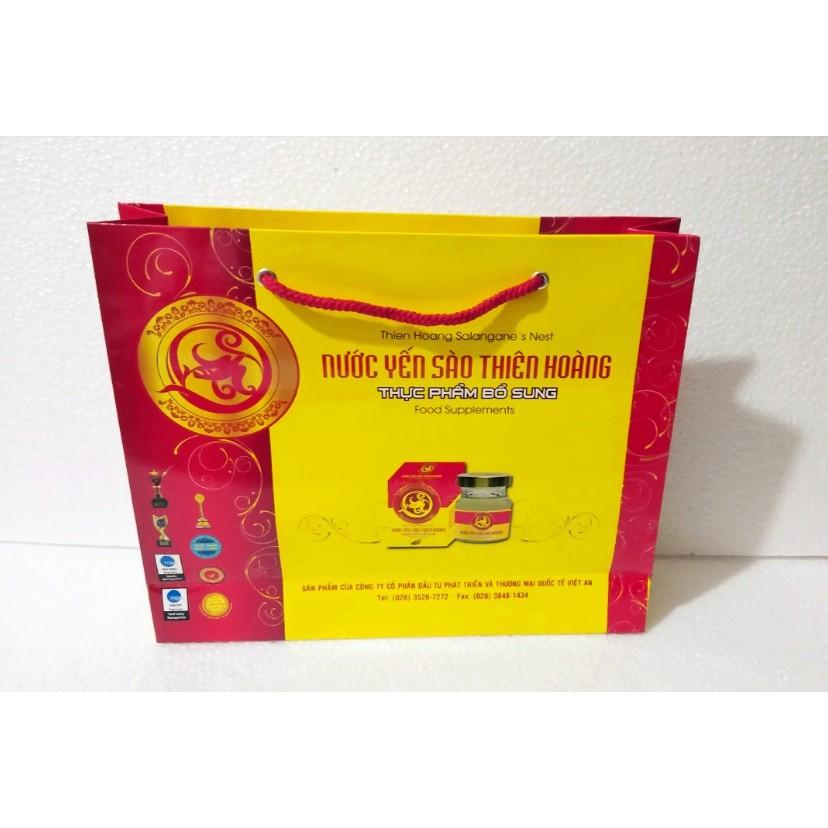 Túi giấy đựng hộp yến Thiên