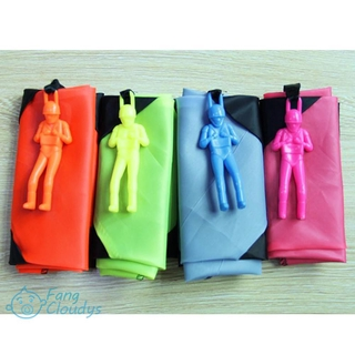 [Hot] Mini Parachute soldier toy Outdoor sports Children Educational Toys
