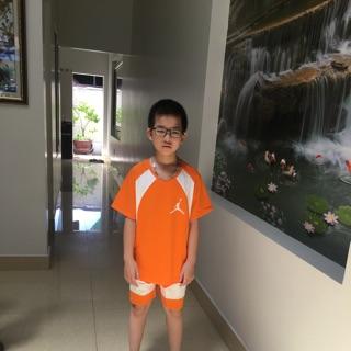 Bộ quần áo hè cho bé trai từ 30kg – 45kg