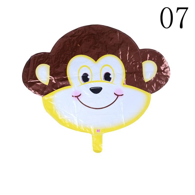 $VN Cute Animal Head Shape Foil Balloon Zoo Birthday Wedding Party Supply Baby Decor ZNS 1126