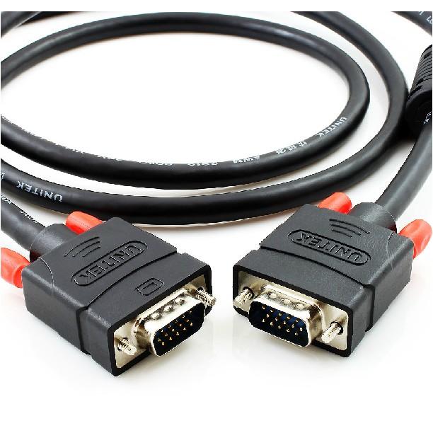 Cáp VGA 2 đầu đực 15m Unitek Y-C507A - Dây VGA 15m Unitek C507A