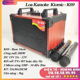 - Kiomic K69 - Loa kéo karaoke mini mới nhất 2020