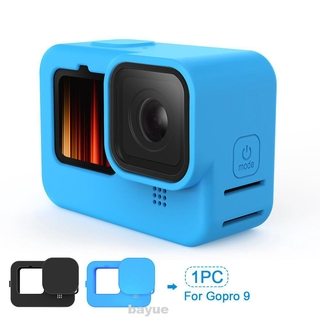 Protective Case Silicone Wear Resistant With Lanyard Housing Anti Lost Dust Proof For Gopro9