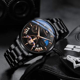 Đồng hồ nam FNGEEN cao cấp, dây thép không rỉ, chống nước tốt
