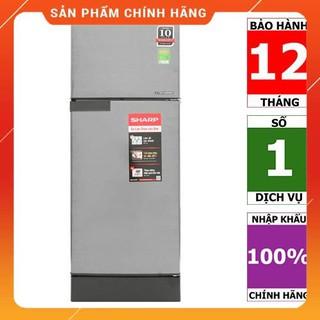 [FREE SHIP] SJ-X196E-SL | SJ-X196E-DSS | Tủ lạnh Sharp Inverter 180 lít - HÀNG CHÍNH HÃNG
