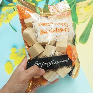 Túi 30 bông phấn trang điểm KAI hàng Nhật