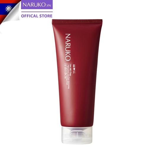 Sữa rửa mặt bọt Naruko RJT Pore Minimizing & Brightening Foaming Wash 120 ml Ý Dĩ Nhân Đỏ (Bản Đài)