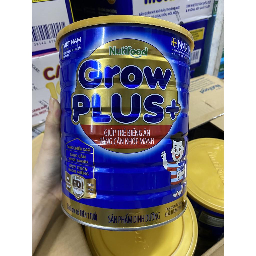 (MẪU MỚI) SỮA BỘT GROW PLUS NUTIFOOD XANH HỘP 1.5KG DATE MỚI