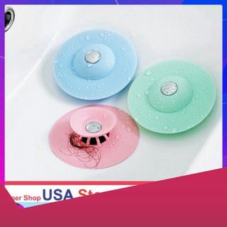 CỰC HOT HIT Chặn Rác Bồn Rửa Bát - Bồn Rửa Mặt - Bật Mở Thông Minh - Ngăn Mùi Bồn Tắm - Nắp Cống thumbnail