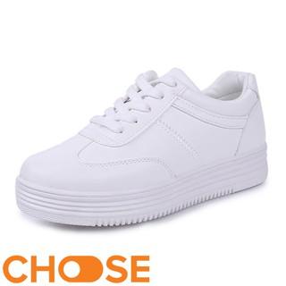 Giày Thể Thao Nữ Sneaker Màu Trắng Choose Tăng Chiều Cao Cho Học Sinh GK9K2 thumbnail