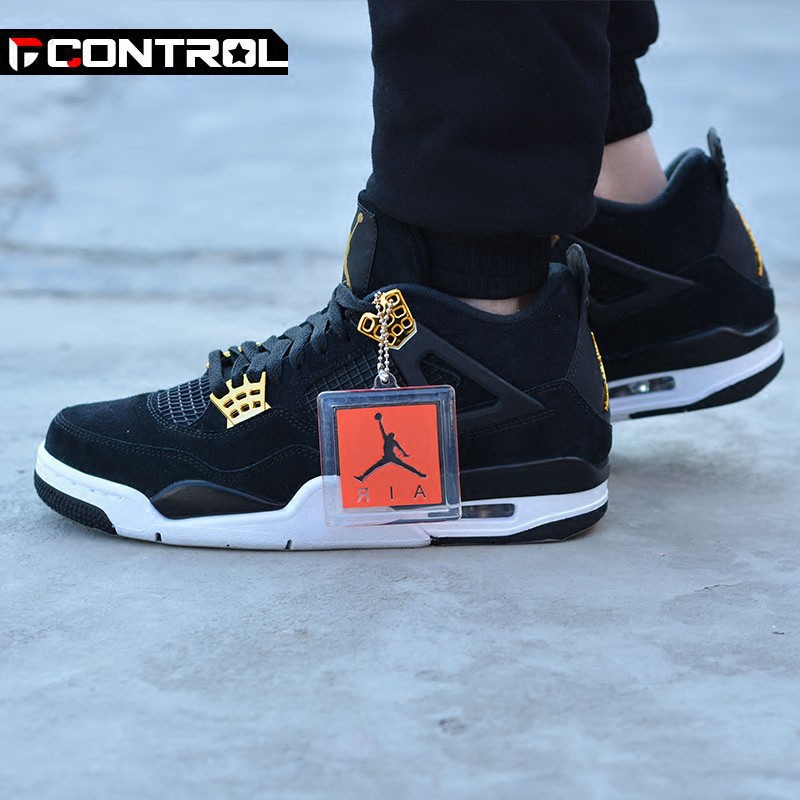 new products a2dec f53ee Nike AIR JORDAN 4 Royalty AJ4 รองเท้าบาสเก็ตบอล