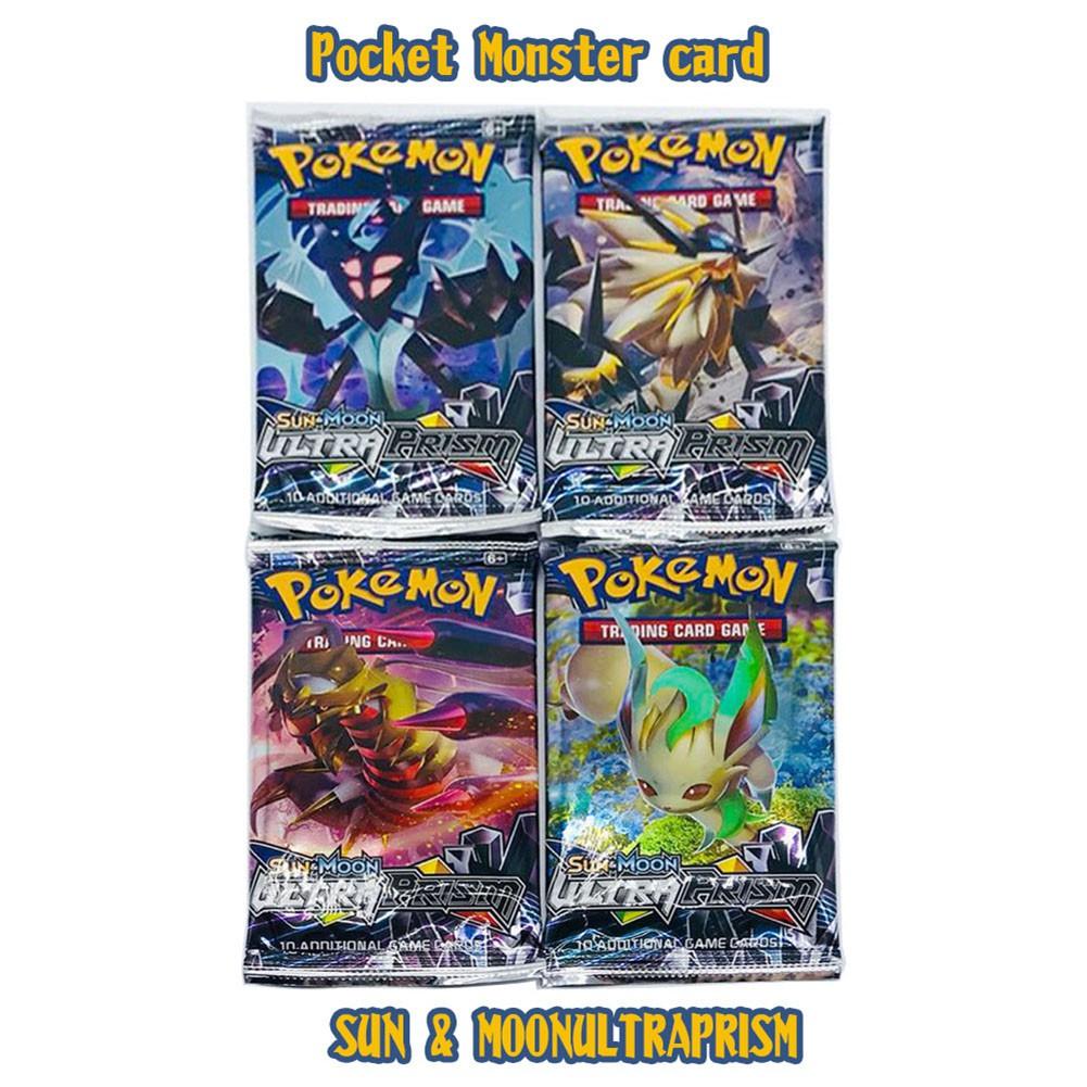 Bộ lắp ráp thẻ bài Pokemon TCG Sun and Moon 4 tấm lăng kính