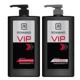 Dầu gội hoặc sữa tắm Romano VIP 650g