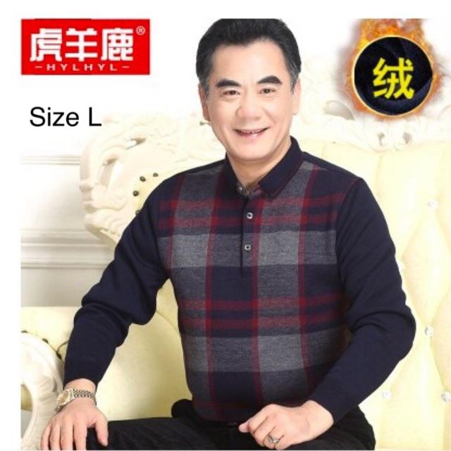 Combo áo len cho bố và áo khoác Quỳnh Cool