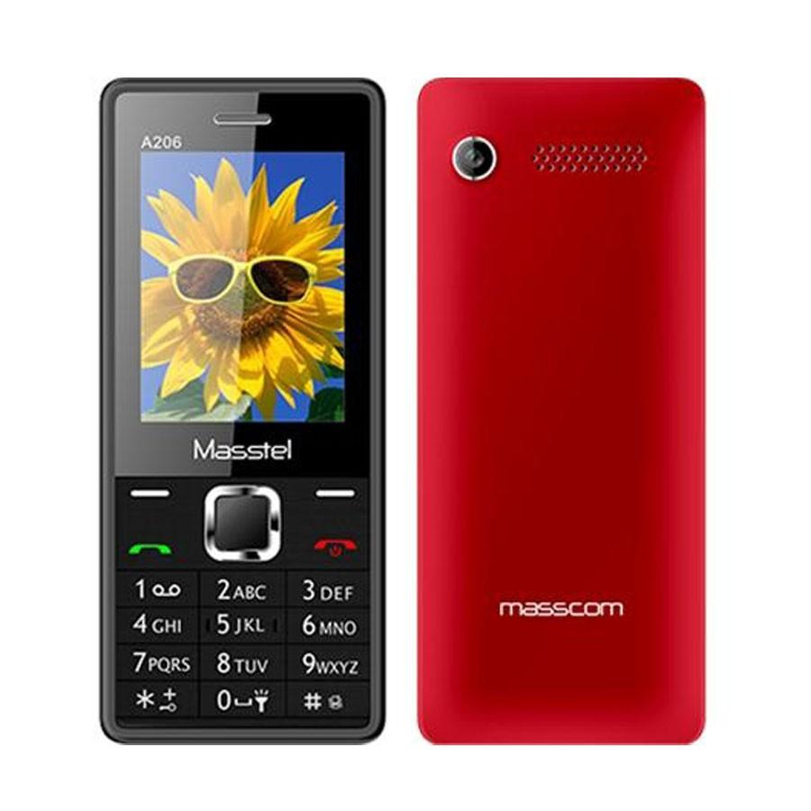 ĐTDĐ MASSTEL A206 2 Sim (Đỏ) - 2589875 , 12145963 , 322_12145963 , 318000 , DTDD-MASSTEL-A206-2-Sim-Do-322_12145963 , shopee.vn , ĐTDĐ MASSTEL A206 2 Sim (Đỏ)