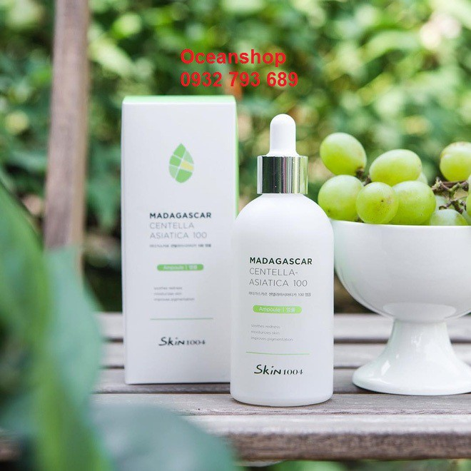Tinh chất rau má trị mụn Madagasca Centella Asiatica của Skin1004 về hàng SALE 50%