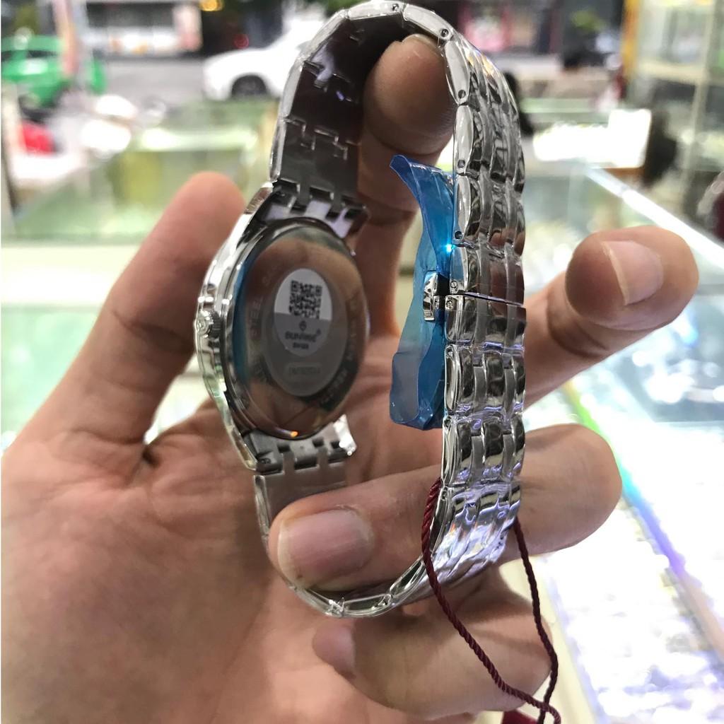 Đồng hồ nam SUNRISE 782SWA Full hộp, thẻ bảo hành chính hãng, Kính Sapphire chống xư