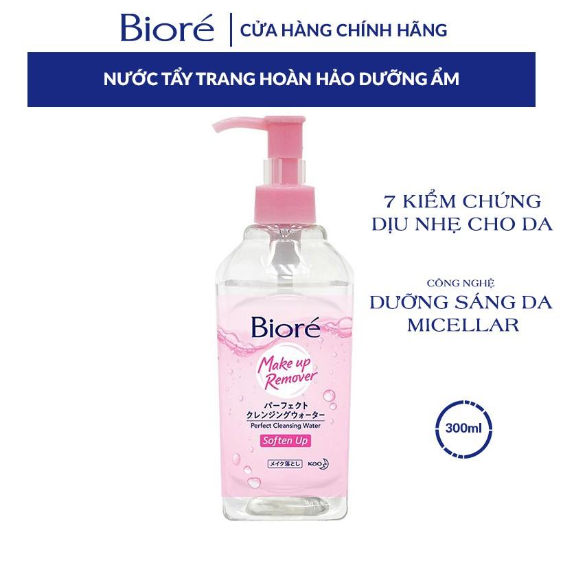 Nước Tẩy Trang Hoàn Hảo Dưỡng Ẩm Biore Makeup Remover Perfect Cleansing  Water 300ml | Shopee Việt Nam