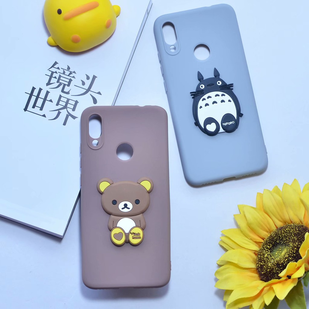 Xiaomi Mi 8 9 Pocophone F1 Case 3D Multicolor Cartoon Animal patch Android Soft Cover เคสโทรศัพท์มือถือ