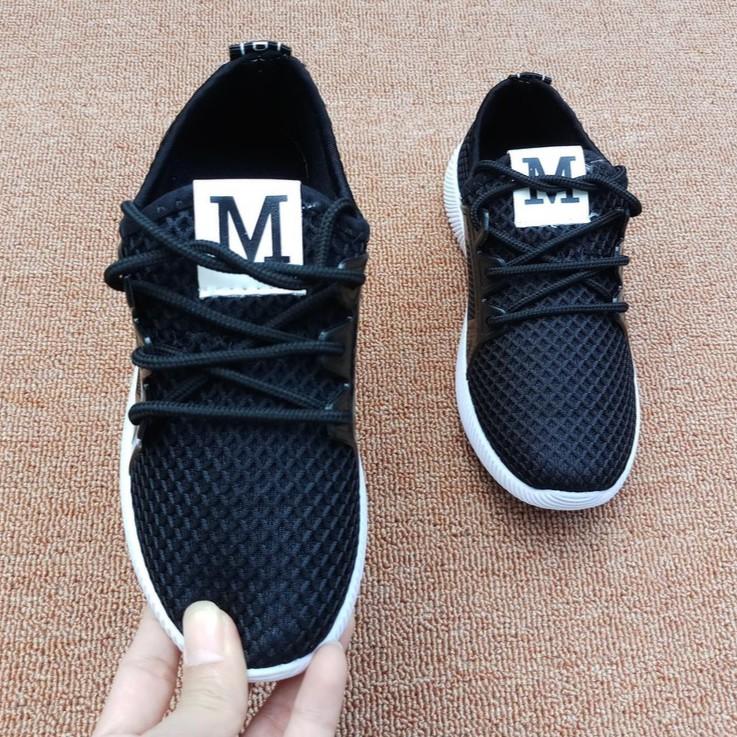 Ảnh thật : Giày thể thao siêu nhẹ cho bé-M buộc dây - đen/xám/hồng-Size 28 đến 38 - 2941836 , 890943042 , 322_890943042 , 200000 , Anh-that-Giay-the-thao-sieu-nhe-cho-be-M-buoc-day-den-xam-hong-Size-28-den-38-322_890943042 , shopee.vn , Ảnh thật : Giày thể thao siêu nhẹ cho bé-M buộc dây - đen/xám/hồng-Size 28 đến 38