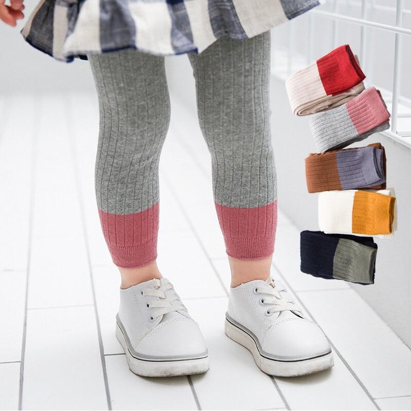 [SIÊU ĐẸP] Quần legging  mềm mại cho bé gái hàng xuất khẩu cao cấp