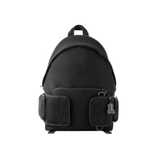 FRONT The Rook Backpack D421 - BLACK - M ♟ Balo cao cấp FRONT D421 đen vải Neoprene + Tặng Keychain PVC