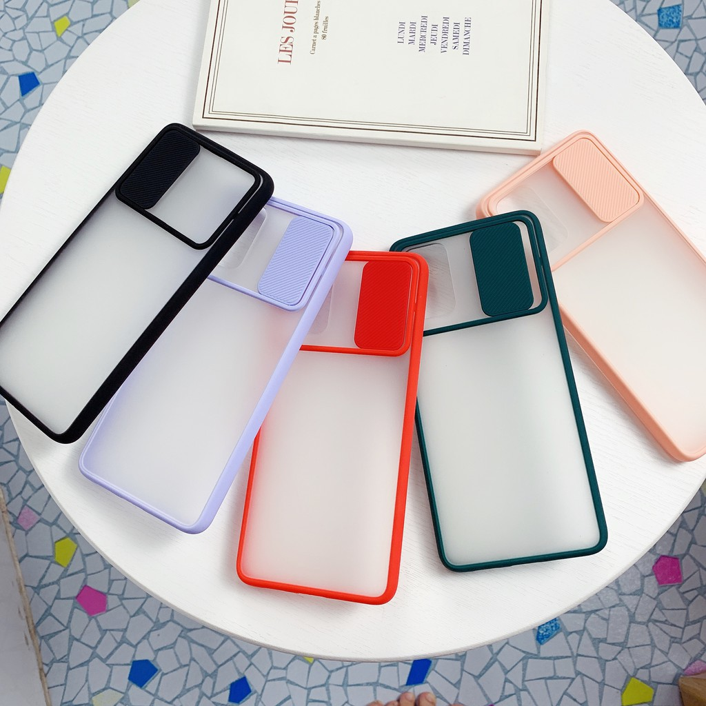 Ốp điện thoại trong suốt màu kẹo chống sốc cho Samsung A71 A51 2020 A21S A31 A50 A50S A30S
