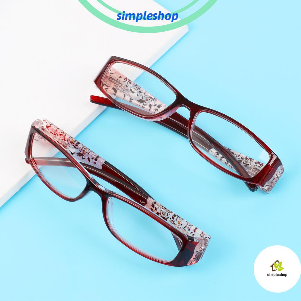 ❀SIMPLE❀ Ultralight Presbyopic Eyewear Radiation Protection Printing Eyeglasses Anti Blue Light Reading Glasses Vision Care Men Women Fashion Anti-blue Rays...