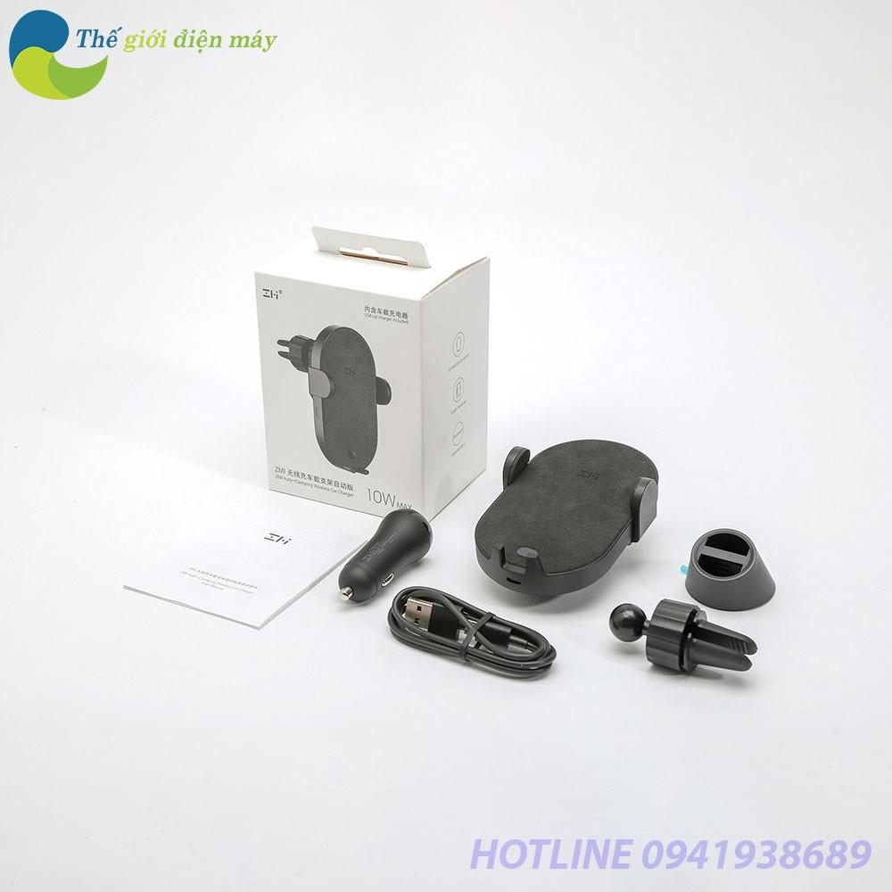 Đế giữ tự động kiêm sạc không dây ô tô Xiaomi ZMI WCJ11 10W - Bảo hành 1 tháng - Shop Thế Giới Điện Máy