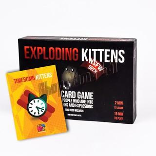 Combo Mèo Nổ Hẹn Giờ Exploding Kittén đen 18+