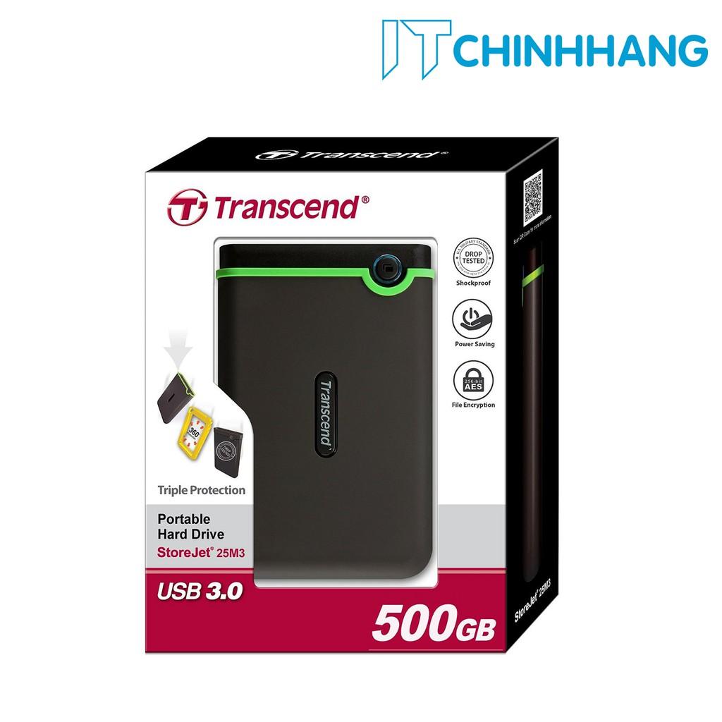 Ổ cứng di động HDD Transcend 500GB M3 - HÃNG PHÂN PHỐI CHÍNH THỨC - 3523636 , 990949573 , 322_990949573 , 1209000 , O-cung-di-dong-HDD-Transcend-500GB-M3-HANG-PHAN-PHOI-CHINH-THUC-322_990949573 , shopee.vn , Ổ cứng di động HDD Transcend 500GB M3 - HÃNG PHÂN PHỐI CHÍNH THỨC