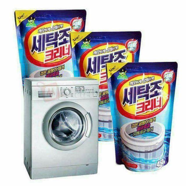 Bột tẩy lồng máy giặt combo 5 gói Chính Hãng
