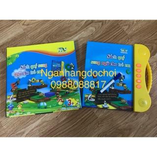 Sách điện tử song ngữ anh việt cho trẻ em tặng kèm 1 set tập tô bay mực 3 quyển 3 bút 9 ngòi