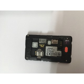 Máy điện thoại phổ thông nghe gọi có cảm ứng nokia asha 501 dual sim