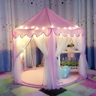 [kèm đèn led dài 6m] Lều công chúa hoàng tử kiểu cho bé kiểu dáng Hàn Quốc