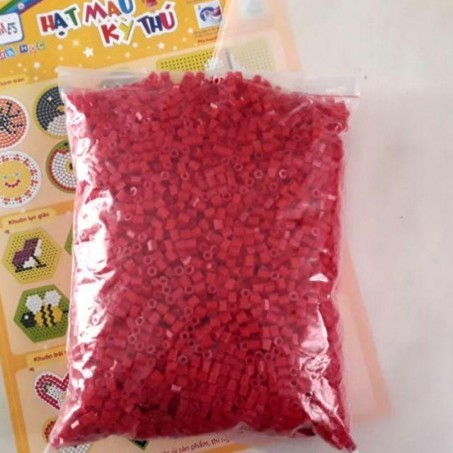 Hạt màu Edugmaes 500g màu đơn (13 màu). Tặng kèm giấy ủi và giấy hướn
