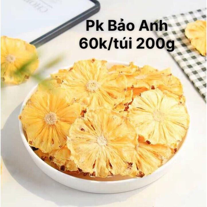 Hoa quả sấy trang trí bánh kem giá rẻ (200g/túi)