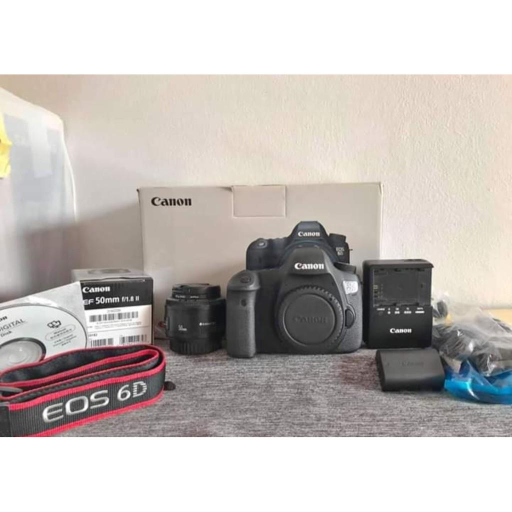 Canon EOS 6D + เลนส์ EF 50mm f/1.8 ll