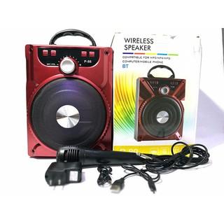 [Nhập mã ELMI01 giảm 10%]Loa Bluetooth P87/P88/P89 - Có Mic Hát Karaoke Nghe Nhạc