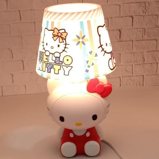 Đèn Ngủ Sạc Usb Hình Doraemon / Hello Kitty Xinh Xắn Tiện Dụng