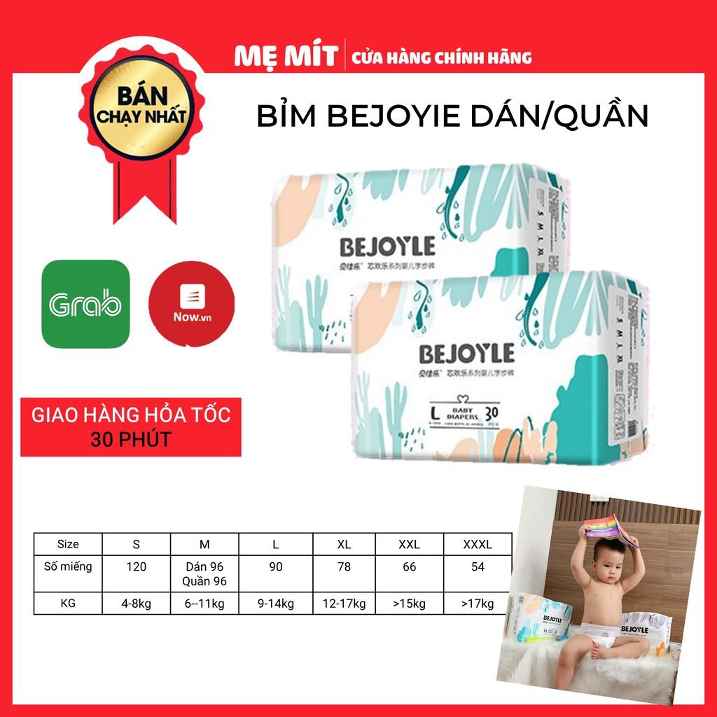 Bỉm Bejoyie Dán/Quần Nội Địa Trung Cao Cấp Size S120-M96-L90-XL78-XXL66-XXXL54
