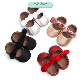 Giày Cho Bé, Giày Bé Gái Dễ THương Mốc Store 11 Đến 13 Cm thumbnail