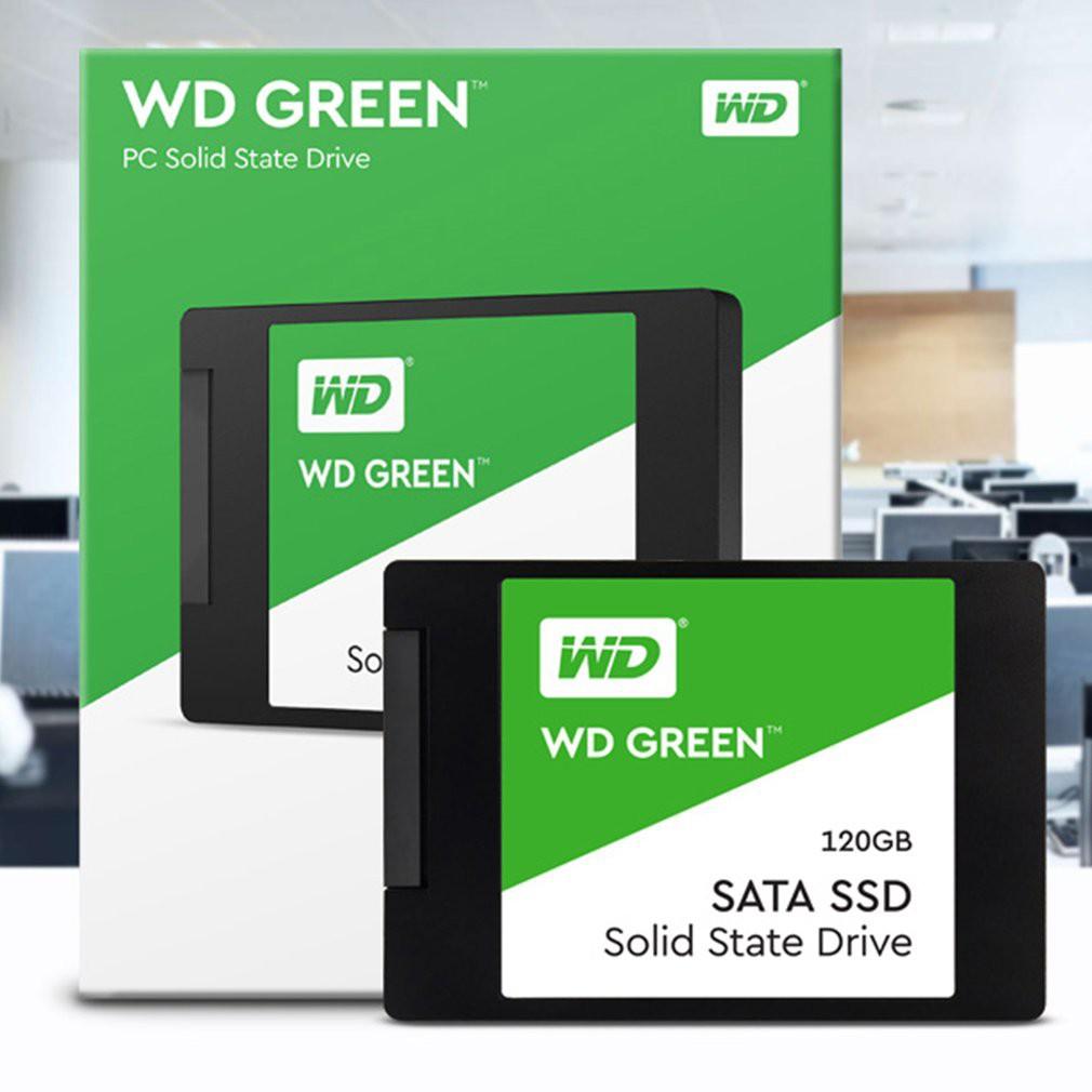 Ele】⚡⚡Ổ Cứng SSD WD Green 120GB/240GB 3D NAND-WDS240G2G0A